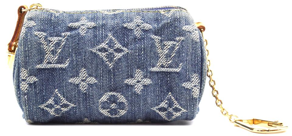 Monogram Denim Speedy Pochette
