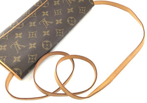 Louis Vuitton Monogram Twin Clutch Gm