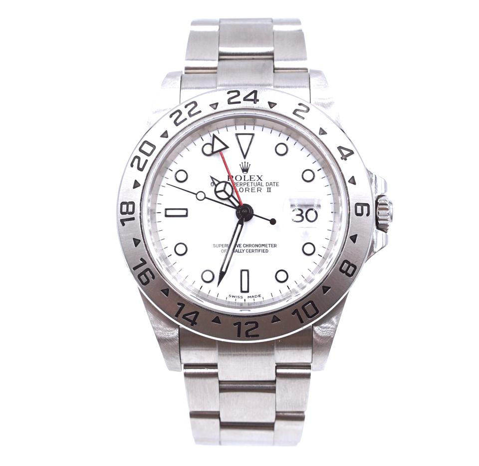 Rolex Explorer Ii 2 16570 Stainless Steel Watch