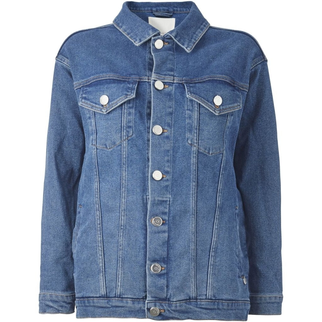 Diva Swan Denim Jacket