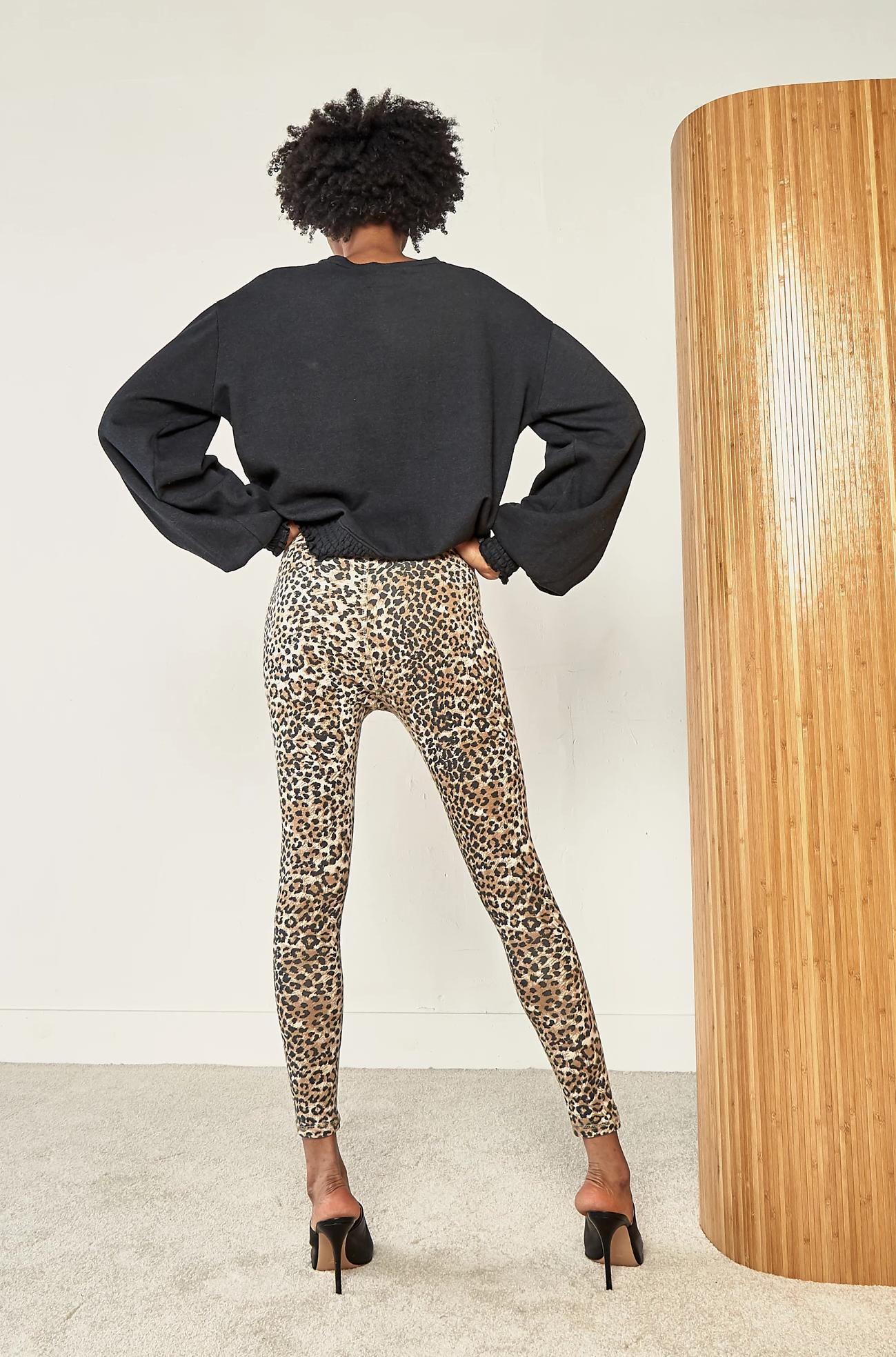 Leggings - Brown Leopard