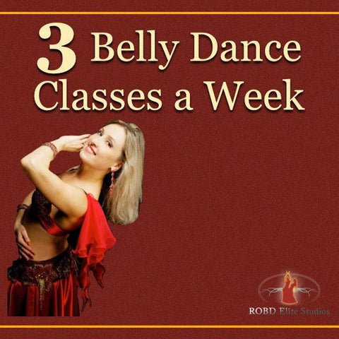 (BDH) Attend 3 Classes a Week Within a Dance Session - ROBD Elite Studios
