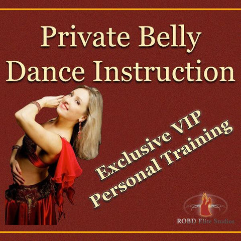 Private Belly Dance Instruction - ROBD Elite Studios
