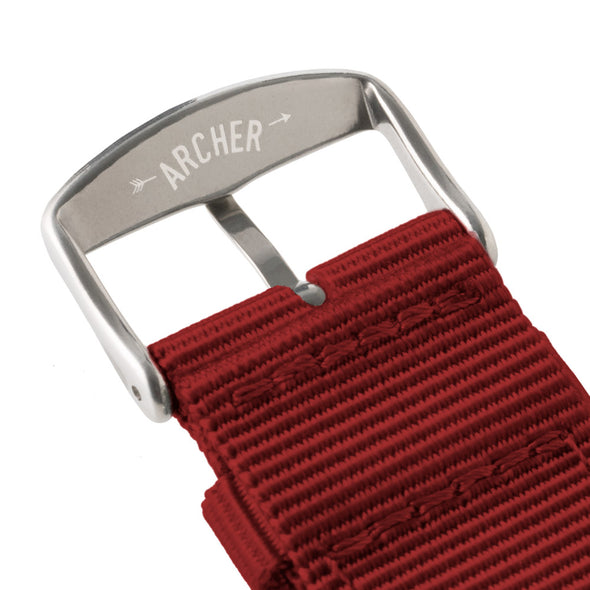 Quick Release Nylon - Red, ARC-QRN-RED22, ARC-QRN-RED20, ARC-QRN-RED18