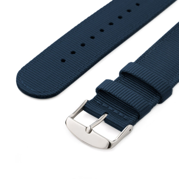 Apple Watch Nylon - Navy/Stainless, ARC-AWNYL-NVYS42, ARC-AWNYL-NVYS38