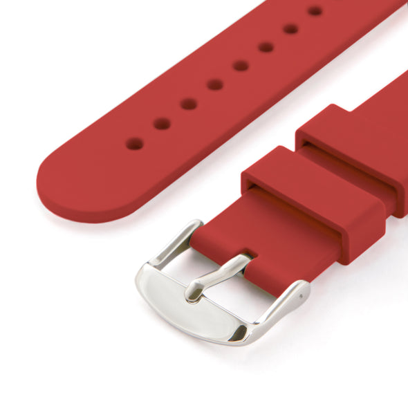 Quick Release Silicone - Venetian Red, ARC-QRS-RED24, ARC-QRS-RED23, ARC-QRS-RED22, ARC-QRS-RED21, ARC-QRS-RED20, ARC-QRS-RED19, ARC-QRS-RED18, ARC-QRS-RED16