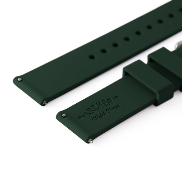Quick Release Silicone - British Racing Green, ARC-QRS-DGN24, ARC-QRS-DGN22, ARC-QRS-DGN20, ARC-QRS-DGN18, ARC-QRS-DGN16