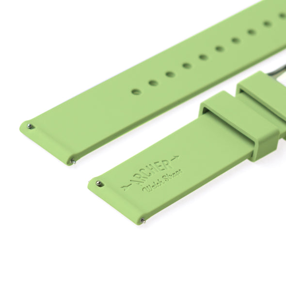 Quick Release Silicone - Tea Green, ARC-QRS-LGN24, ARC-QRS-LGN23, ARC-QRS-LGN22, ARC-QRS-LGN21, ARC-QRS-LGN20, ARC-QRS-LGN19, ARC-QRS-LGN18, ARC-QRS-LGN16