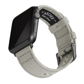 Apple Watch Canvas - Ash Gray/Space Gray, ARC-AWC2-LGYG42, ARC-AWC2-LGYG38