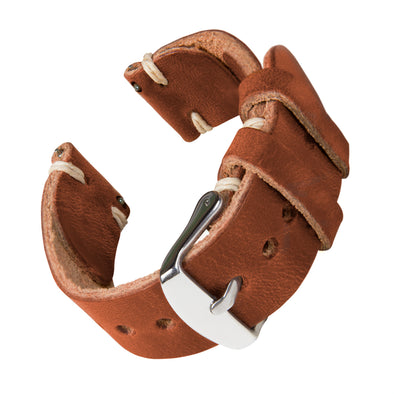 Quick Release Horween Leather - English Tan/Natural, ARC-QRL2-TANNAT22, ARC-QRL2-TANNAT20, ARC-QRL2-TANNAT18