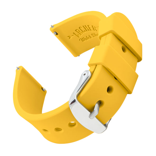 Quick Release Silicone - Naples Yellow, ARC-QRS-YLW24, ARC-QRS-YLW22, ARC-QRS-YLW20, ARC-QRS-YLW18, ARC-QRS-YLW16