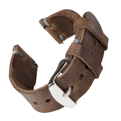 Quick Release Horween Leather - Natural/Gray, ARC-QRL2-NATGRY22, ARC-QRL2-NATGRY20, ARC-QRL2-NATGRY18