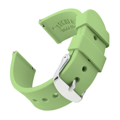 Quick Release Silicone - Tea Green, ARC-QRS-LGN24, ARC-QRS-LGN22, ARC-QRS-LGN20, ARC-QRS-LGN18, ARC-QRS-LGN16
