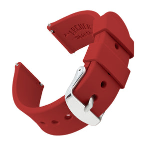 Quick Release Silicone - Venetian Red, ARC-QRS-RED24, ARC-QRS-RED22, ARC-QRS-RED20, ARC-QRS-RED18, ARC-QRS-RED16