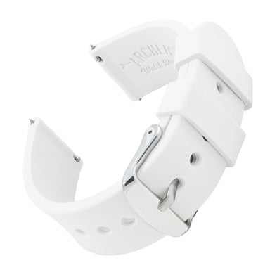 Quick Release Silicone - White, ARC-QRS-WHT24, ARC-QRS-WHT22, ARC-QRS-WHT20, ARC-QRS-WHT18, ARC-QRS-WHT16