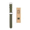 Apple Watch Nylon - Olive/Stainless, ARC-AWNYL-OLVS42, ARC-AWNYL-OLVS38
