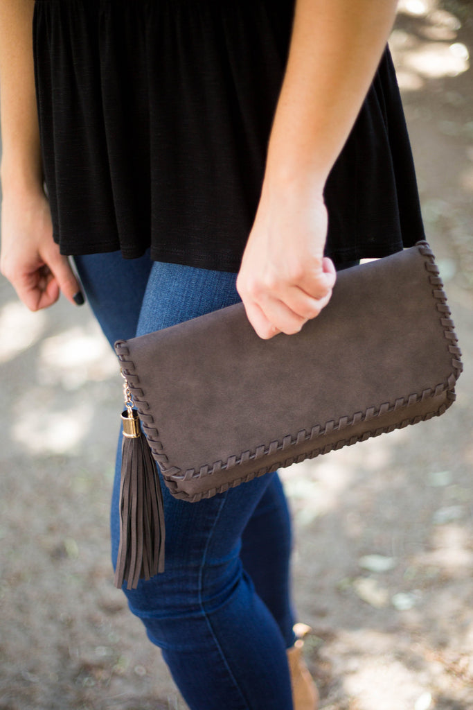 Braided Edge Clutch