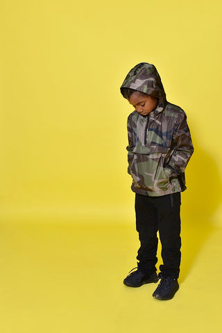 Camo King Windbreaker