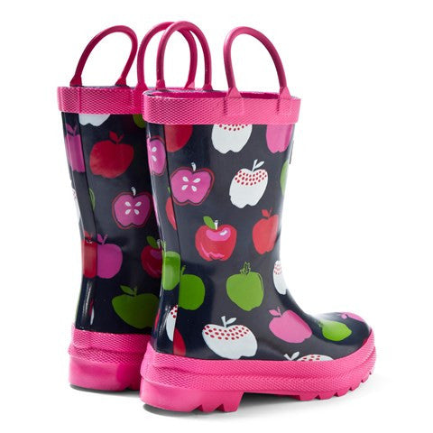 Apples and Rain Boots