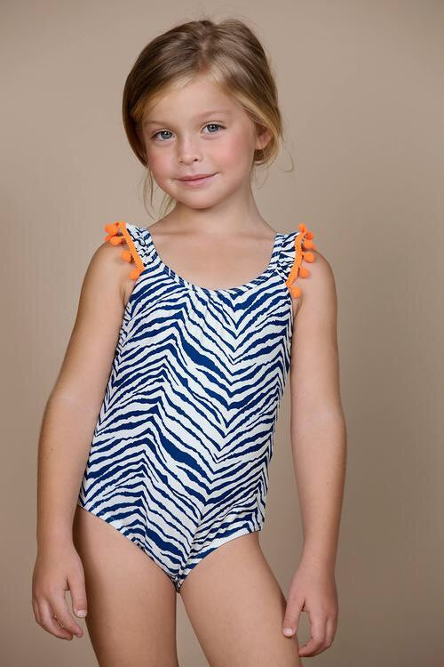 A To Zebra Swimsuit