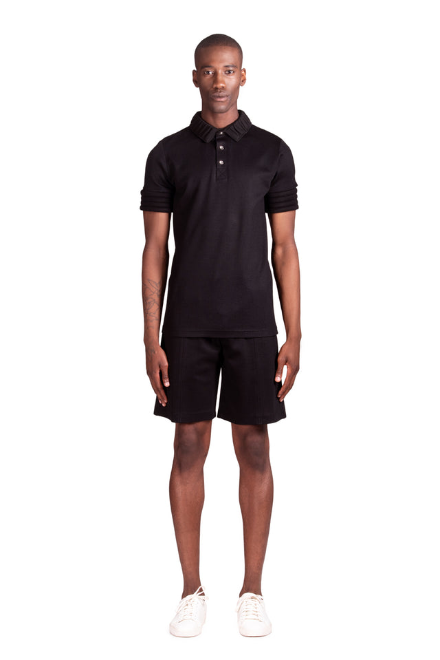 Tilah Short Sleeve Polo - Black
