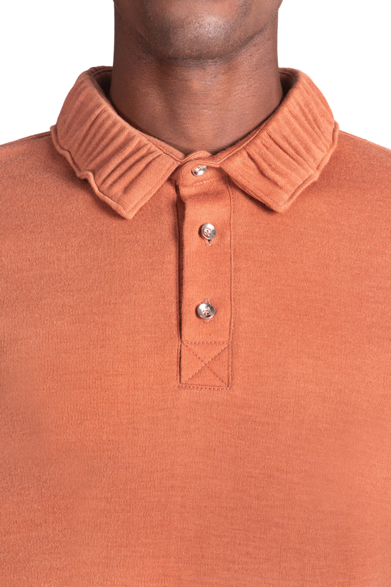Tilah Short Sleeve Polo - Salmon