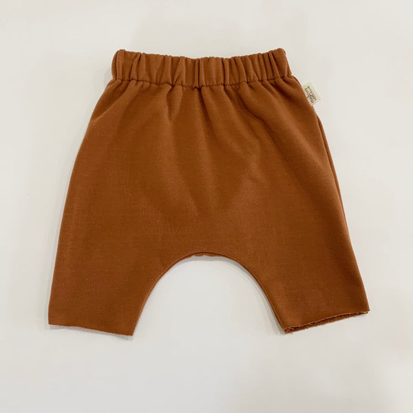 Orange-Rust Harem Shorts
