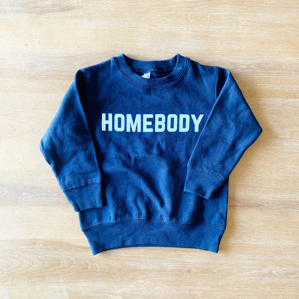 **SALE** HOMEBODY PULLOVER - youth Navy