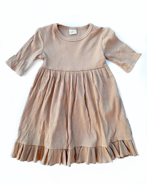 **SALE** The Modern Dress - Latte