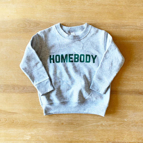 HOMEBODY PULLOVER - youth Grey