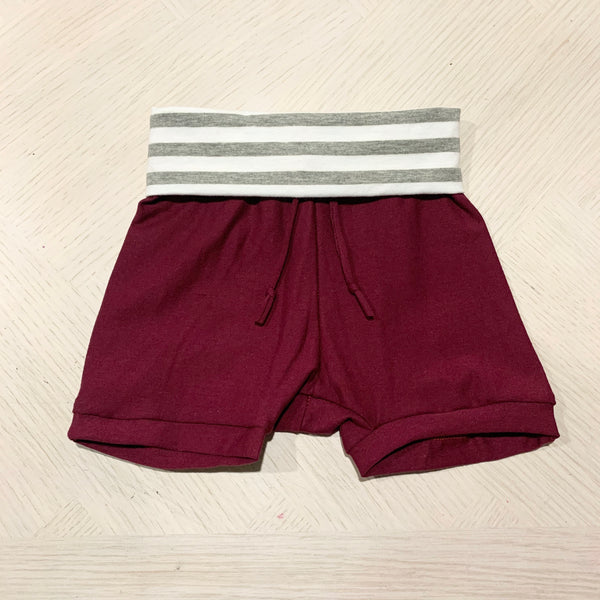 "The ""Everyday"" Shorts - Maroon"