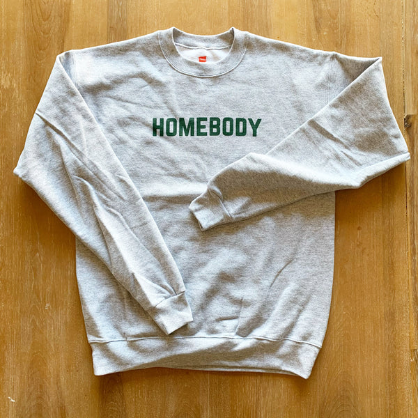 HOMEBODY PULLOVER - Adult Grey