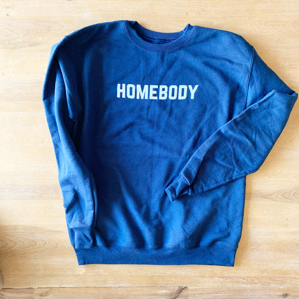 **SALE** HOMEBODY PULLOVER - Adult Navy