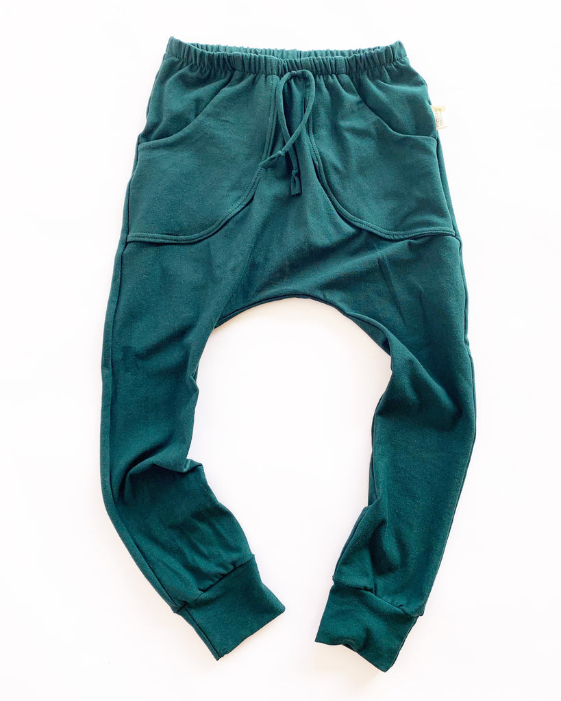 Hunter Green Pocket Joggers