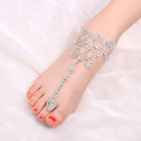 1Pc Barefoot Sandals Foot Jewelry Beach Wedding Ankle Bracelet