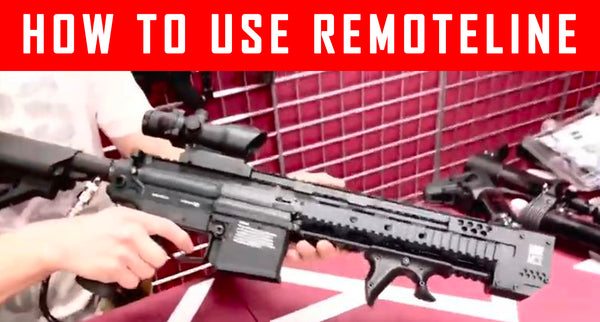 VIDEO:  How To Use Remoteline For Paintball Gun