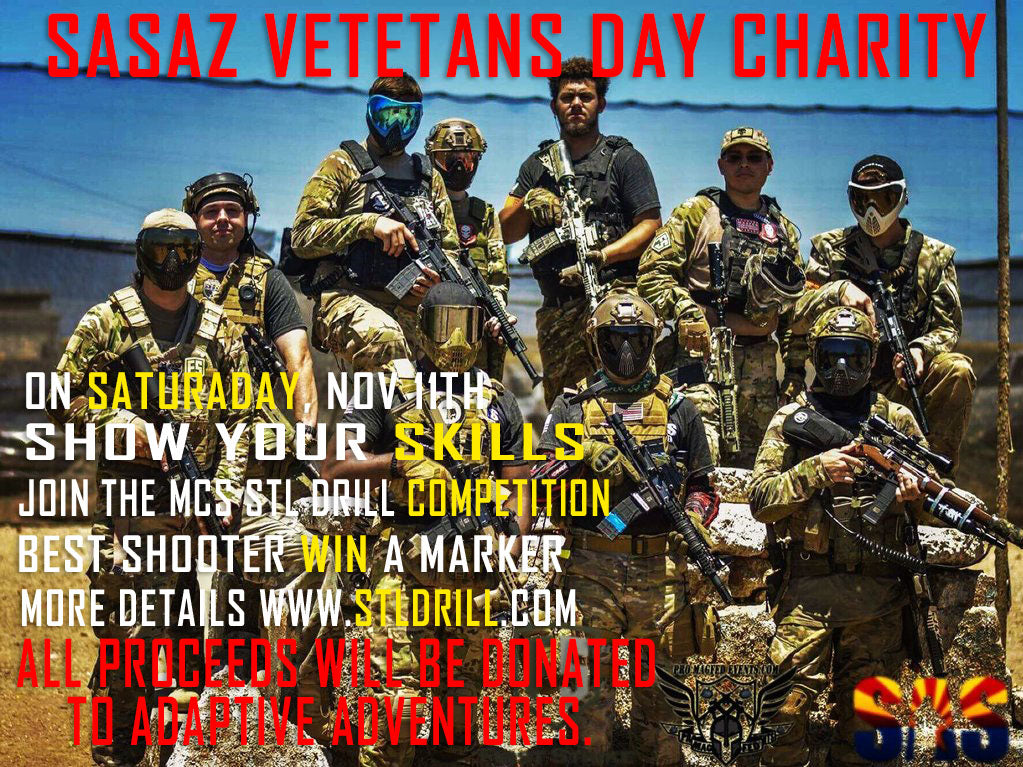 SASAZ Vetetans day Charity STL Drill Competition