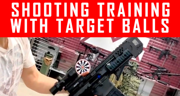 VIDEO: Setup Your Own Shooting Training With Target Balls #MCS