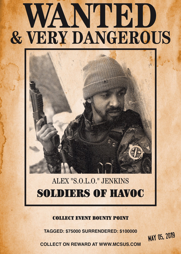 "SOLDIERS OF HAVOC ADVANCED WARFARE: ALEX ""SOLO"" JENKINS"