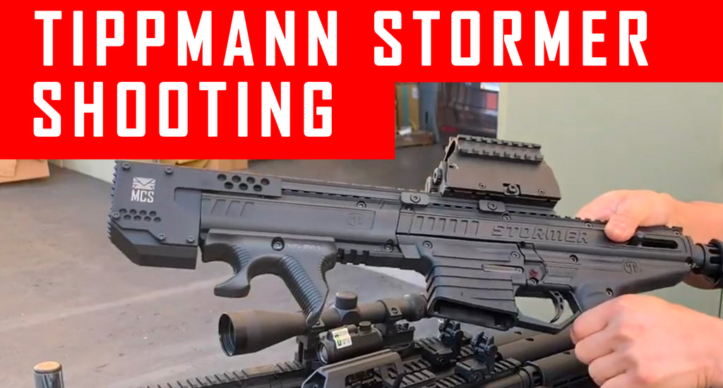 Tippmann Stormer Shooting Demo