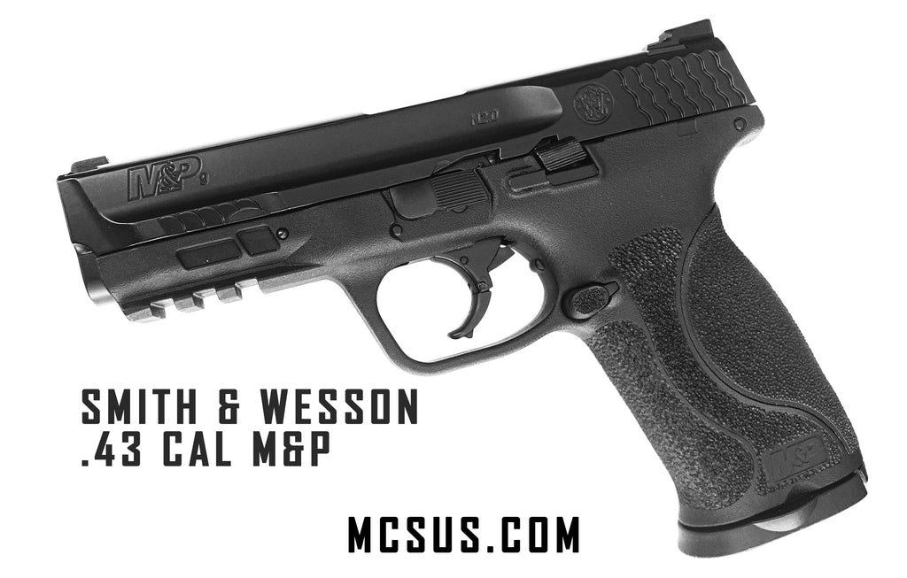 VIDEO: Smith and Wesson M&P Paintball Pistol Shooting Demo