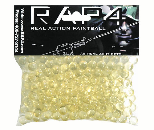 New .43 Caliber Clear Training Paintballs