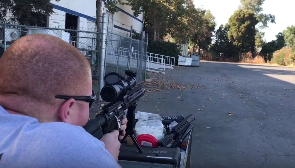 VIDEO:468 PTR DMR Shooting Demo