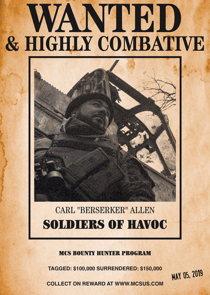 "SOLDIERS OF HAVOC ADVANCED WARFARE: CARL ""BERSERKER"" ALLEN"