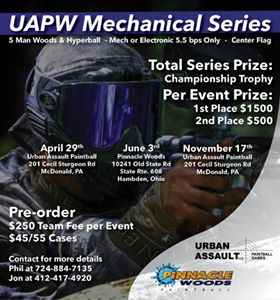 UAPW Mechanical Series Event 2 (2018 June 3)
