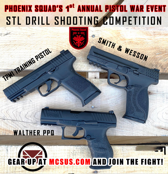 Pistol War 2020 STL Drill Competition