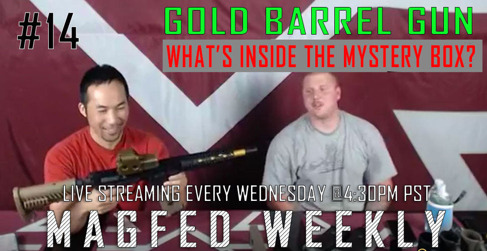MFW: Gold Barrel Gun and What's inside the mystery box?