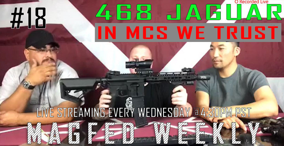 MFW SHOW: This week MCS we trust and the 468 Jaguar