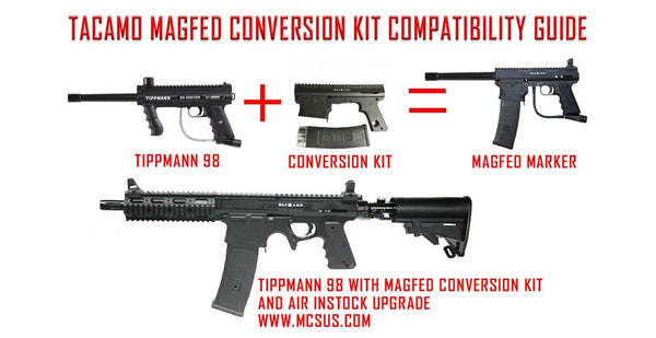 Tacamo Magfed Conversion Kit Compatibility Guide