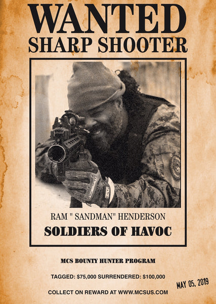 "SOLDIERS OF HAVOC ADVANCED WARFARE: RAM ""SANDMAN"" HENDERSON"